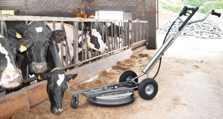 Anwendungsbeispiel des Big Wheel von R+M / Suttner in der Landwirtschaft