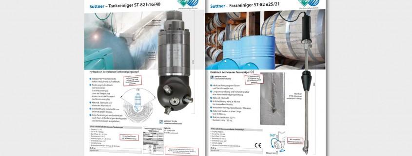 Tank- und Fassreiniger von R+M / Suttner für professionelle Anwendung