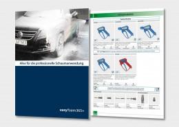 easyfoam365+ von R+M / Suttner für die professionelle Schaumanwendung