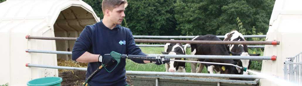 Der Hochdruckschlauch easyfarm365+ für den Agrarbereich von R+M / Suttner