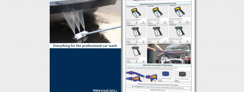 Everything for the professional car wash!