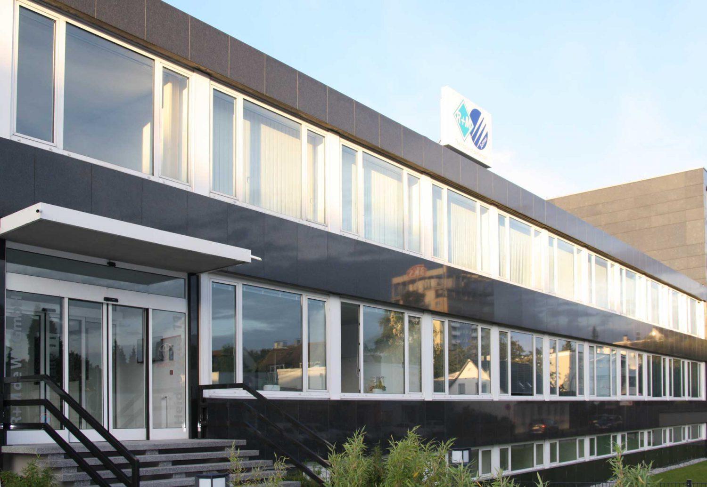 Firmengebäude, R+M de Wit GmbH in Velbert, Heidestraße 11
