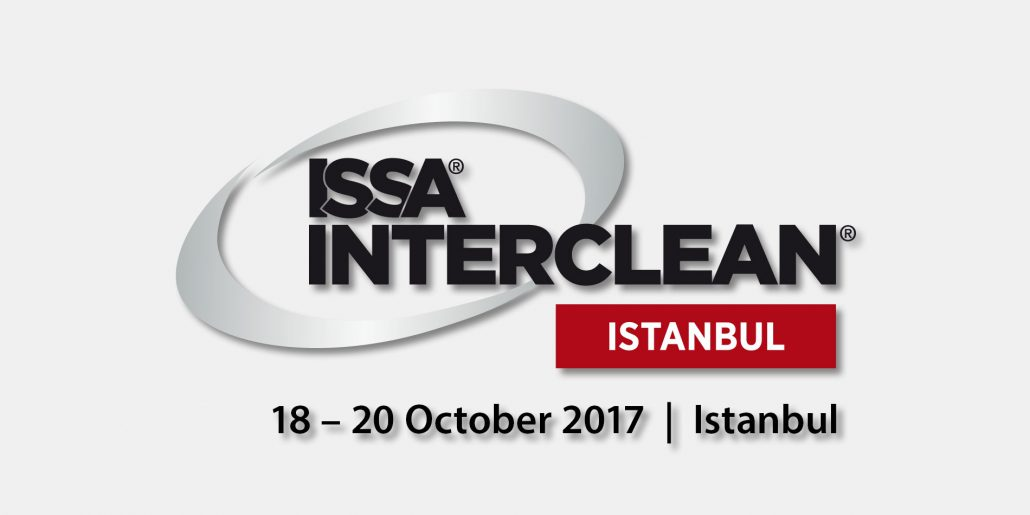 Messebanner der ISSA INTERCLEAN 2017 in Istanbul
