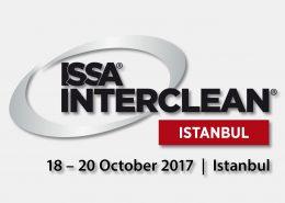 Messebanner der ISSA INTERCLEAN 2017 in Istanbul