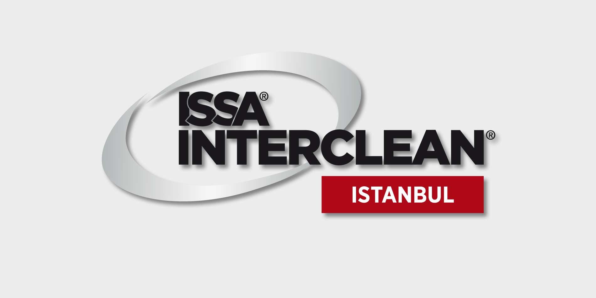 Messebanner der ISSA INTERCLEAN in Istanbul