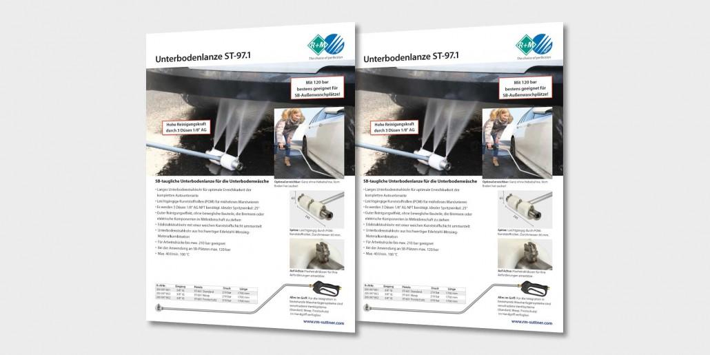 SB-taugliche Unterbodenlanze für die Unterbodenwäsche