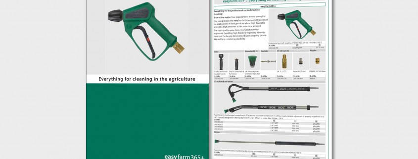 Everything for cleaning in the agriculture