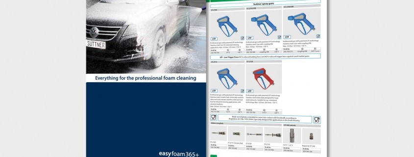 easyfoam365+ Everything for the professional foam cleaning