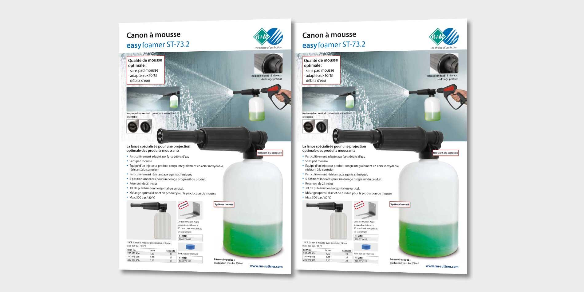 Canon à mousse ST-73.2 easy foamer