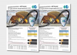 High pressure hoses for highest requirements on durability under hardest conditions