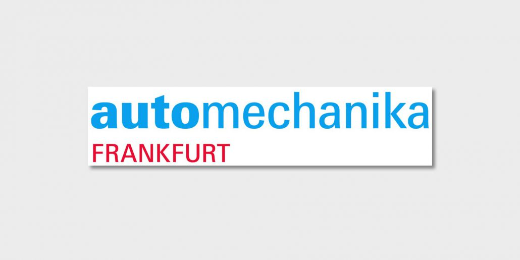 Messebanner der automechanika in Frankfurt