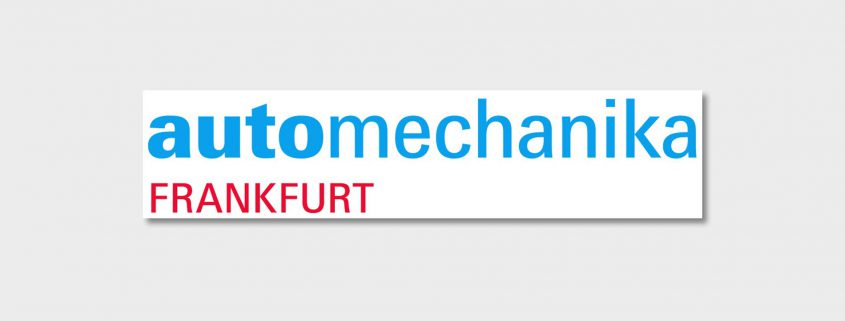 Messebanner der automechanika in Frankfurt