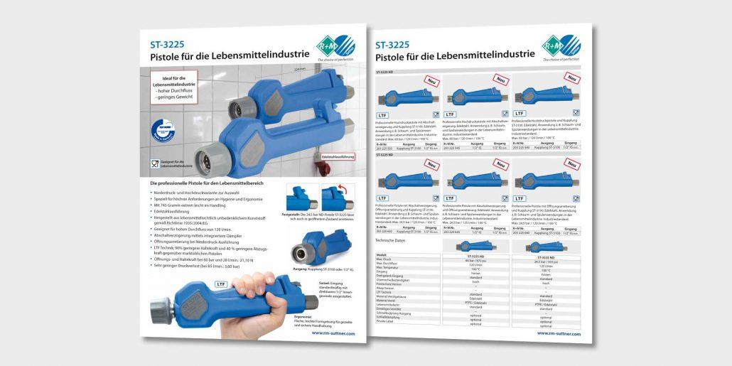 Pistole für die Lebensmittelindustrie – ST-3225
