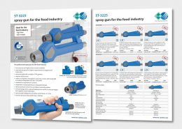 spray gun for the food industry – ST-3225