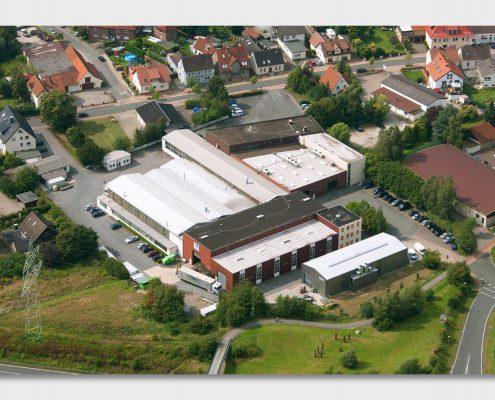Luftaufnahme Firmengelände Suttner in Leopoldshöhe