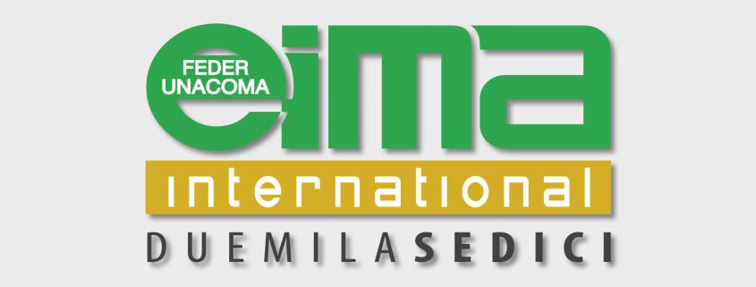 Messebanner der EIMA INTERNATIONAL in Bologna