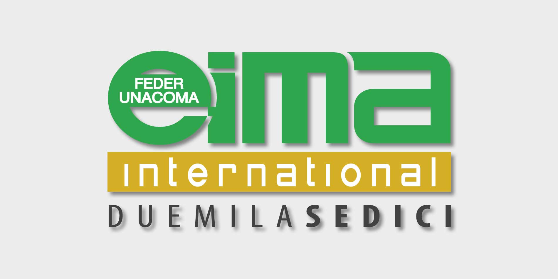 Messebanner der EIMA INTERNATIONAL in Bologna