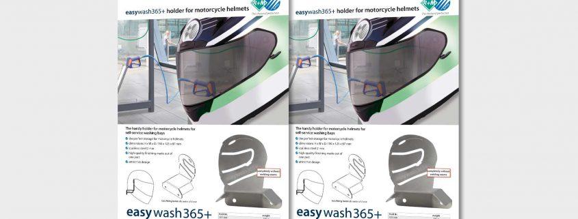 holder for motorcycle helmets