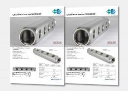 Distributor connector block
