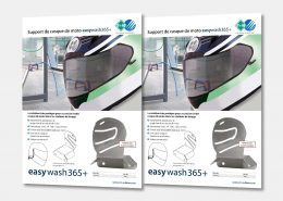 Support de casque de moto easywash365+
