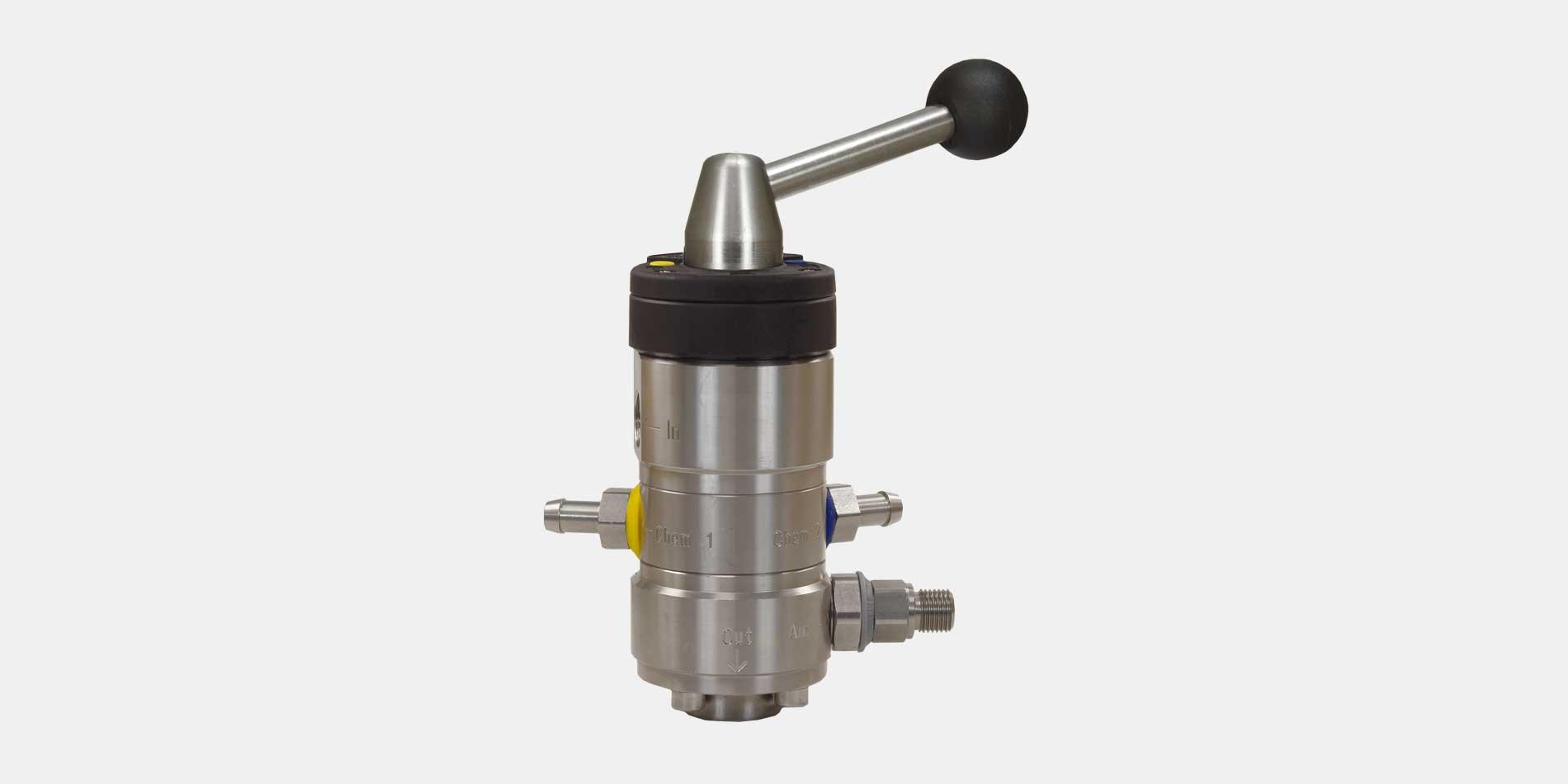 Der Injektor ST-164 mit Druckluft von R+M / Suttner