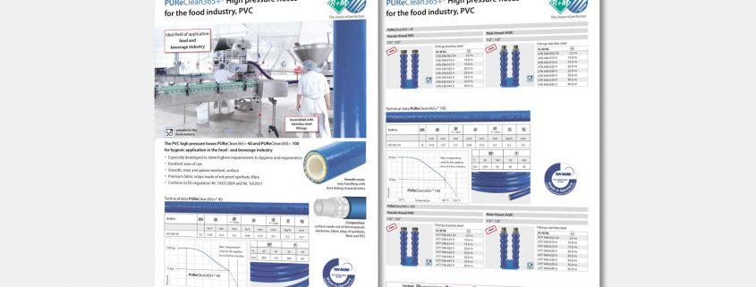 Der PUReClean365+® PVC-Lebensmittelschlauch