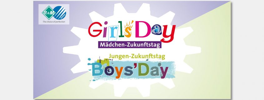 Girls'Day und Boys'Day bei R+M / Suttner