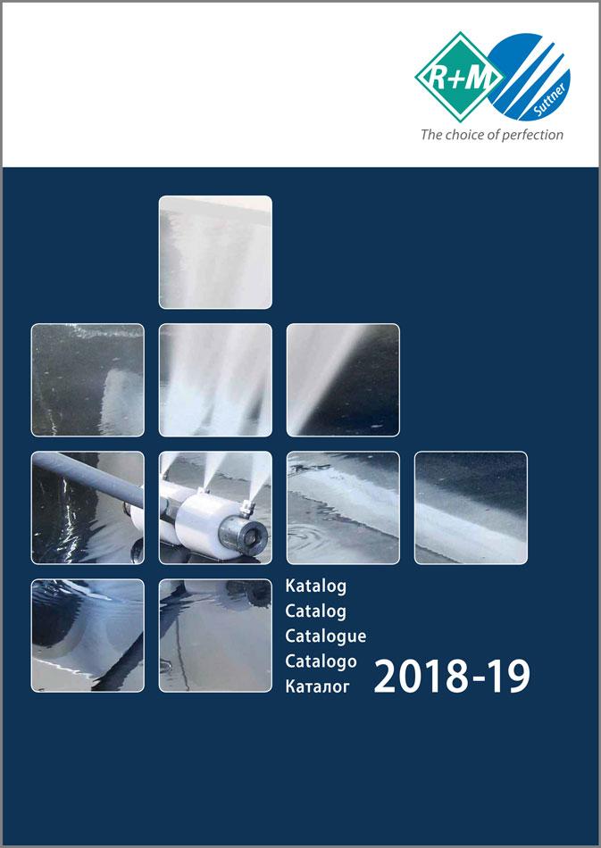 Unser neuer Katalog 2018-19 ist druckfrisch mit allen Neuprodukten für die Systemlösungen für die professionelle Reinigungstechnik von R+M / Suttner.
