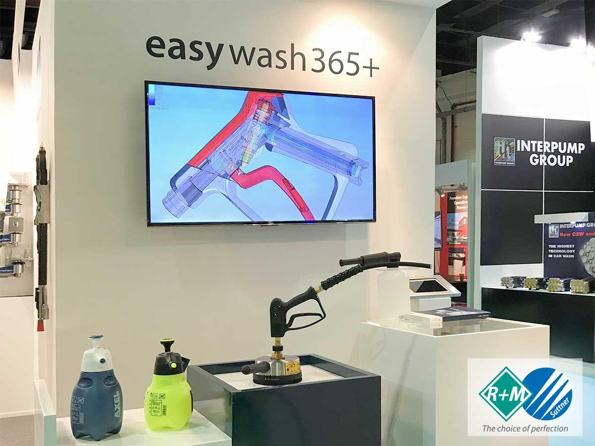 Gulf Car Wash – Car Care Expo in Dubai 2017. Scheich H.E. Butti Saeed Al Ghandi besuchte unseren Stand.