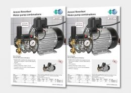 Annovi Reverberi Motor pump combinations