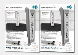 Pince à tapis easywash365+
