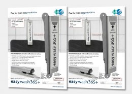 Peg for mats easywash365+