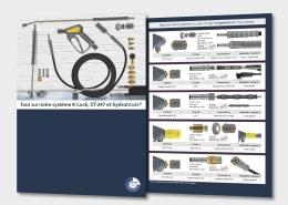 Broschüre:Tout sur notre système K-Lock, ST-247 et hydroblade®