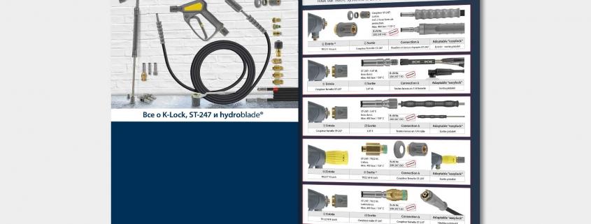 Все о K-Lock, ST-247 и hydroblade®