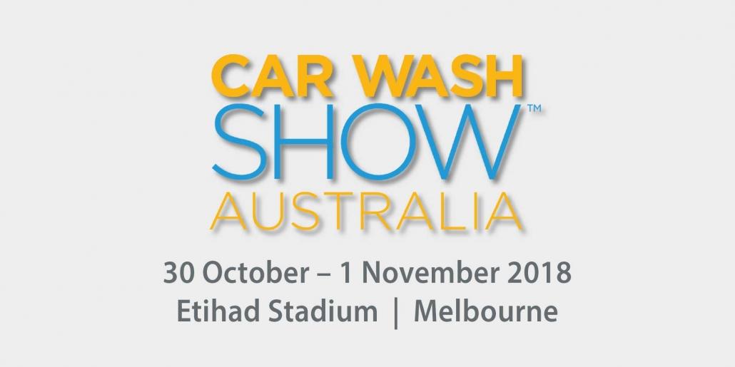 Das R+M / Suttner Messebanner für die Car Wash Show Australia