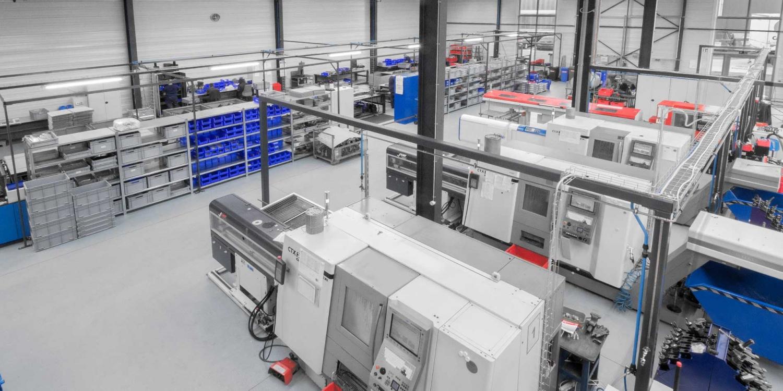 Die Dreherei der WSI Innovation GmbH