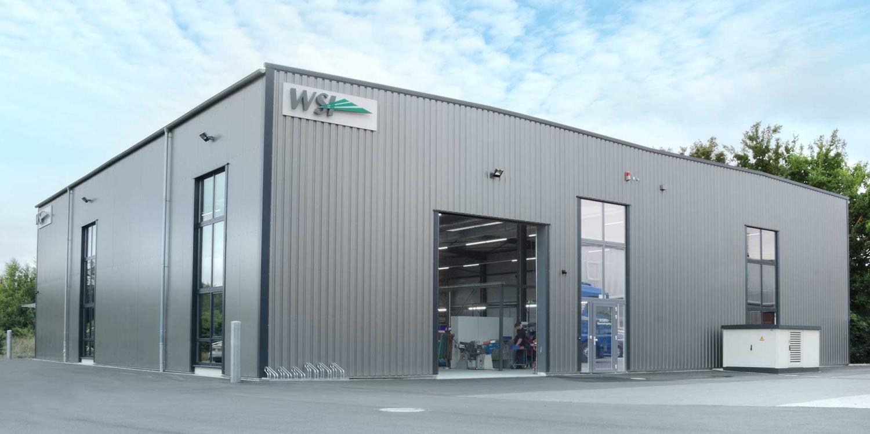 Das Firmengebäude der WSI Innovation in Leopoldshöhe