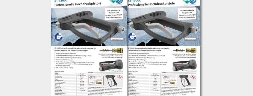 Professionelle Hochdruckpistole ST-1500C