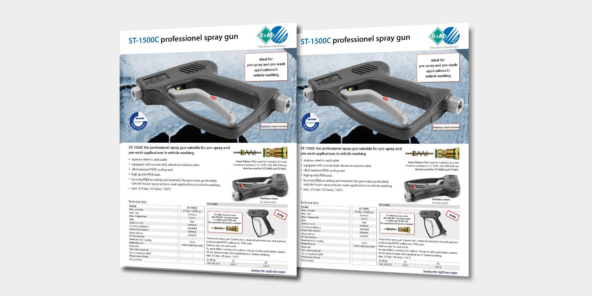 spray gun ST-1500C