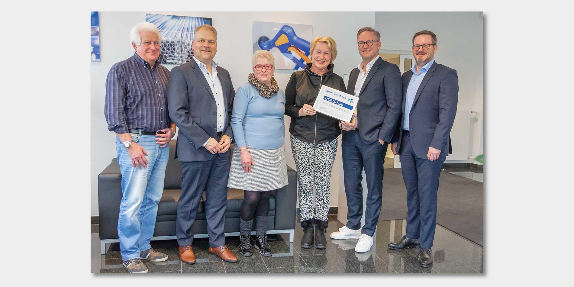 R+M de Wit spendet € 2.000 an den Wunschzettel e.V.