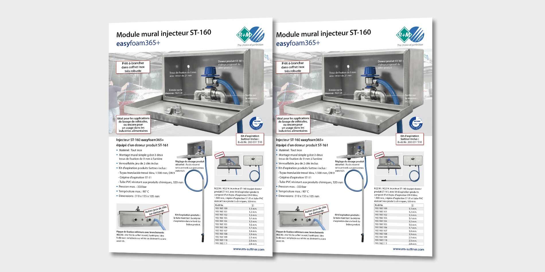 Injektoreinheit ST-160 in Edelstahlbox