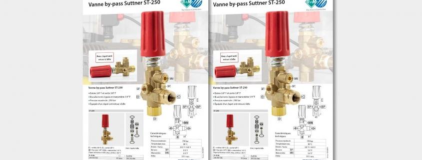 Vanne by-pass Suttner ST-250
