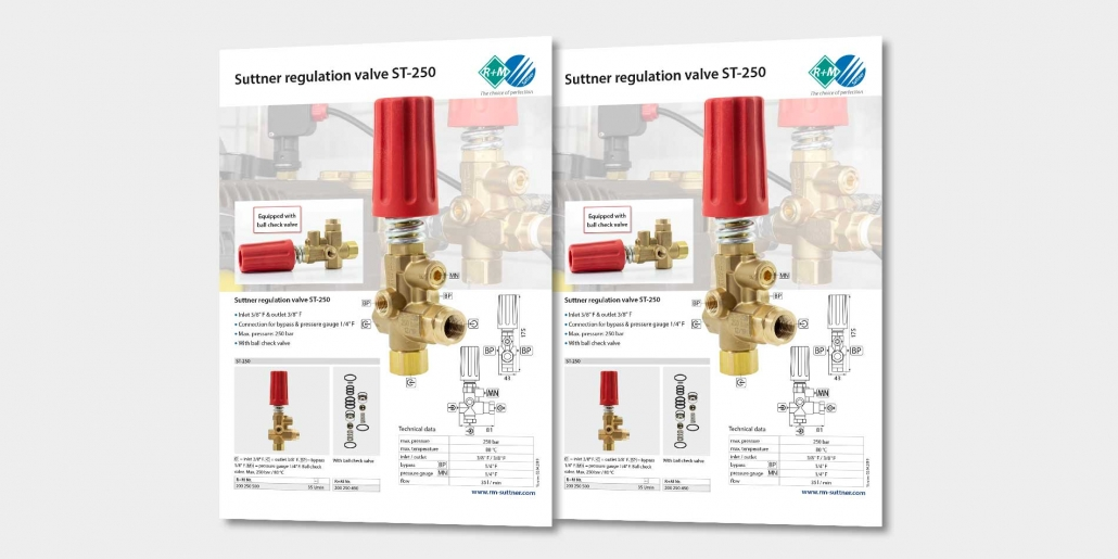 Regulation valve ST-150