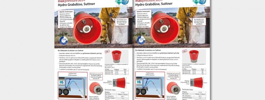Hydro Grabdüse, Suttner