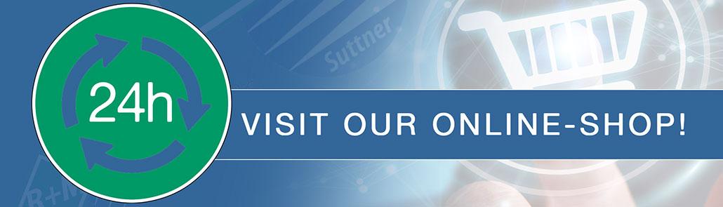 Visit our Online-Shop