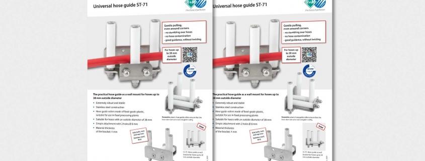 Universal hose bracket ST-71