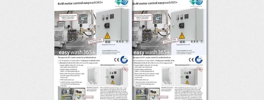 Motorsteuerung easywash365+
