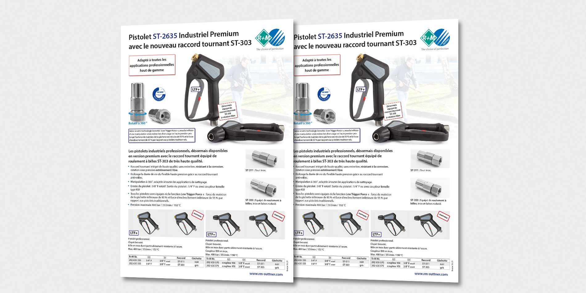 Pistolet ST-2635 Industriel Premium