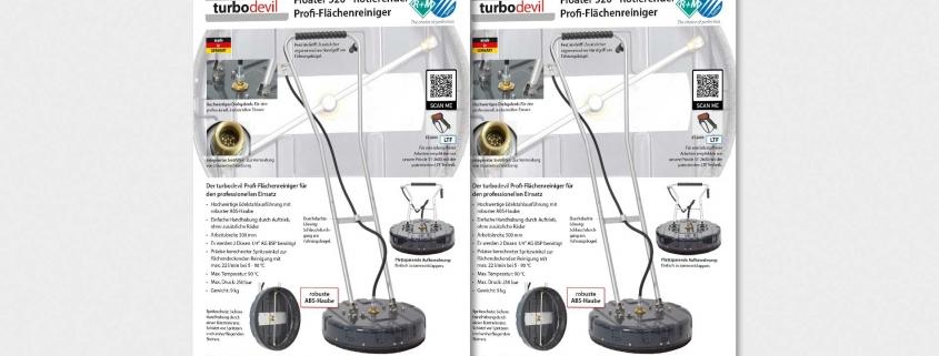 Floater 520 - Rotierender Profi-Flächenreiniger